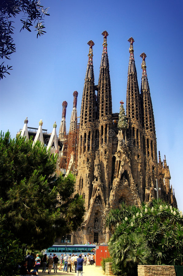 Free Sagrada Familia Royalty Free Stock Photography - 1556557