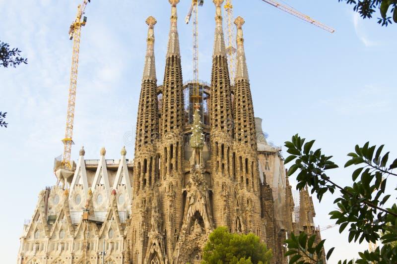 Sagrada Familia royaltyfri fotografi