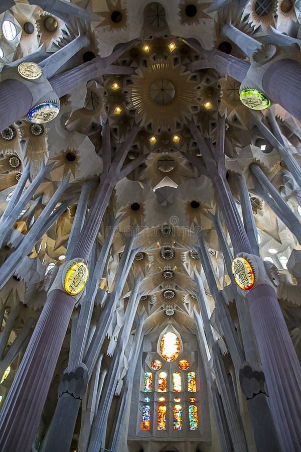 Sagrada Familia 18 стоковая фотография rf