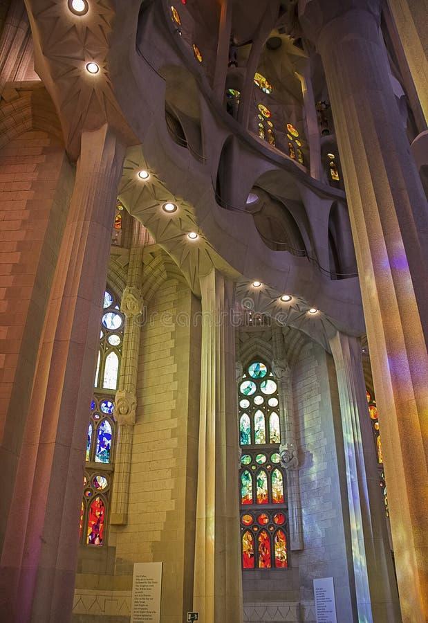 Sagrada Familia 20 стоковые изображения rf