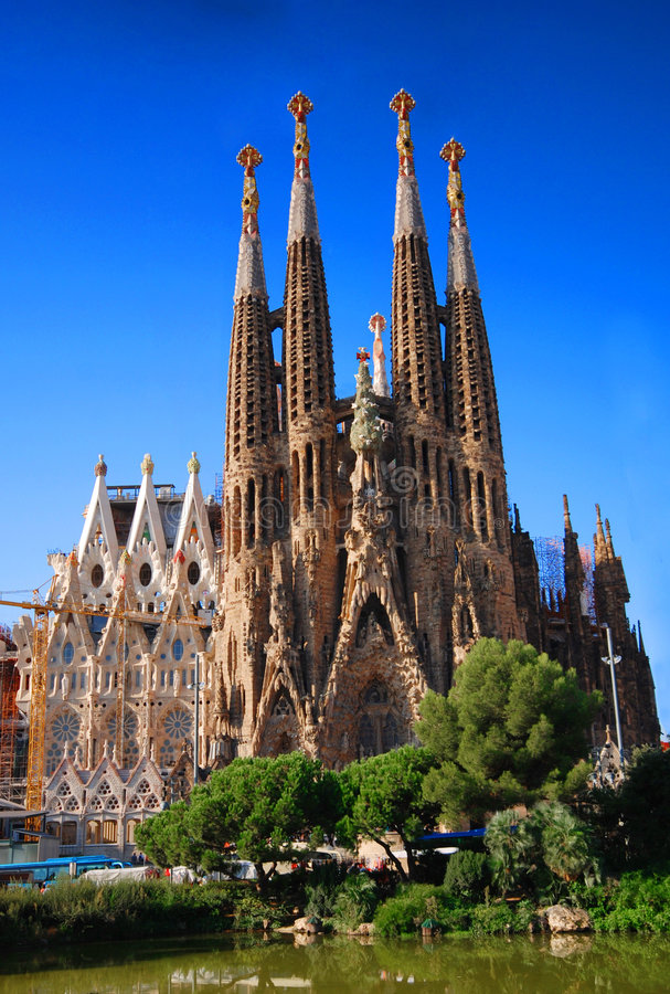 Free Sagrada Familia Royalty Free Stock Photography - 3720907