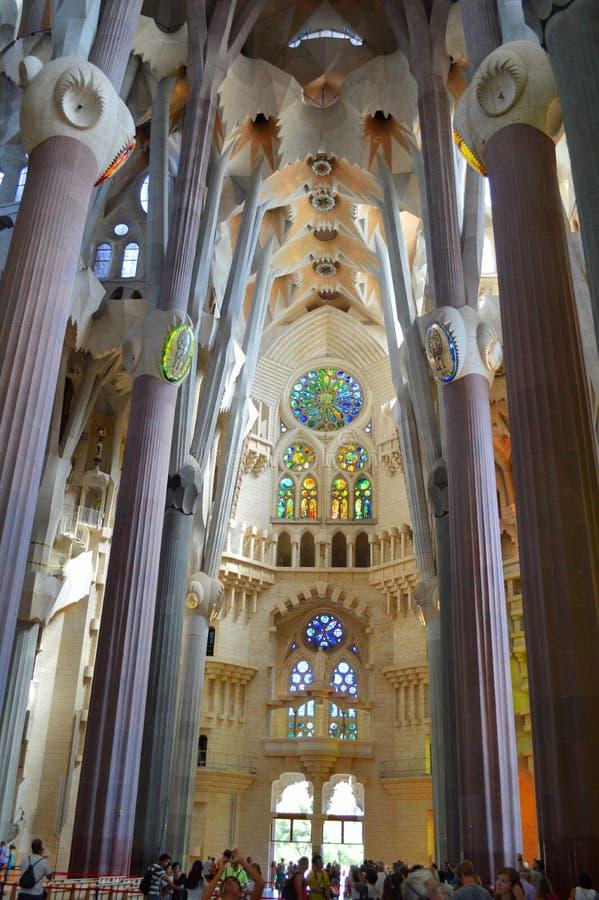 Sagrada Familia foto de stock royalty free