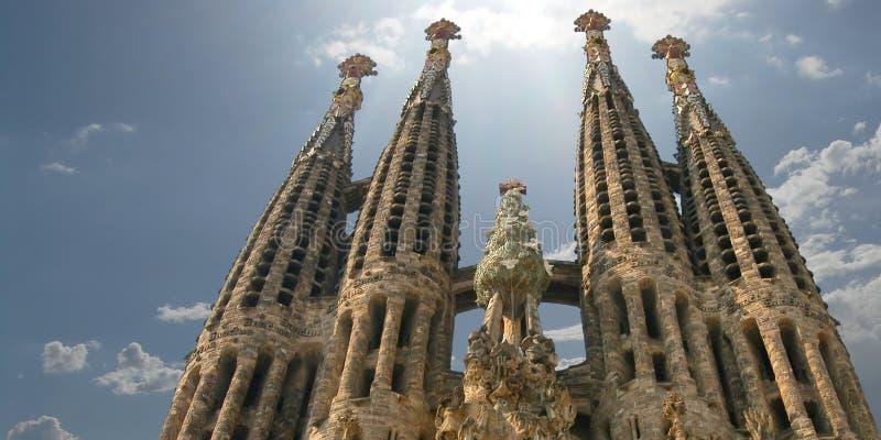 Sagrada Familia images libres de droits