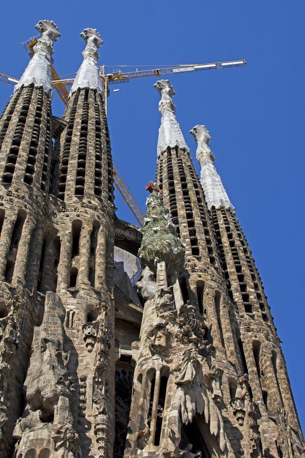 Sagrada Familia stock afbeeldingen