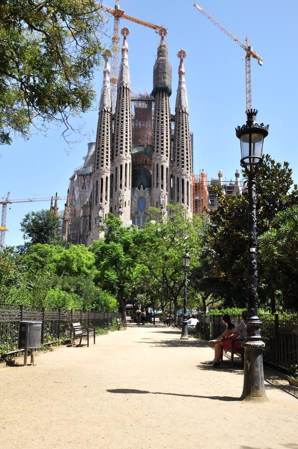 Sagrada Familia stock foto's
