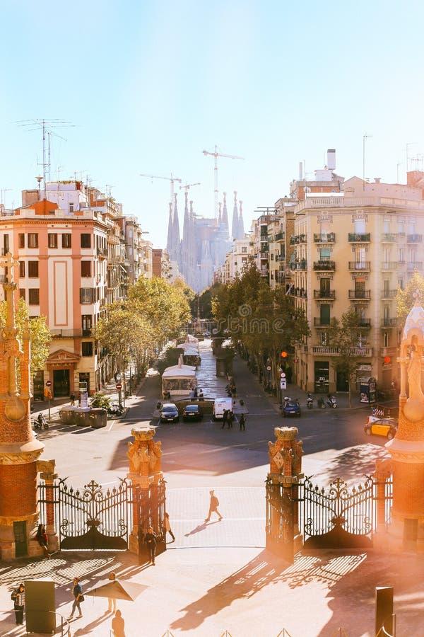 Sagrada familia obrazy royalty free