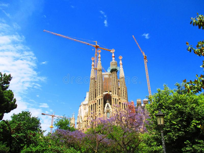 Sagrada Familia image stock