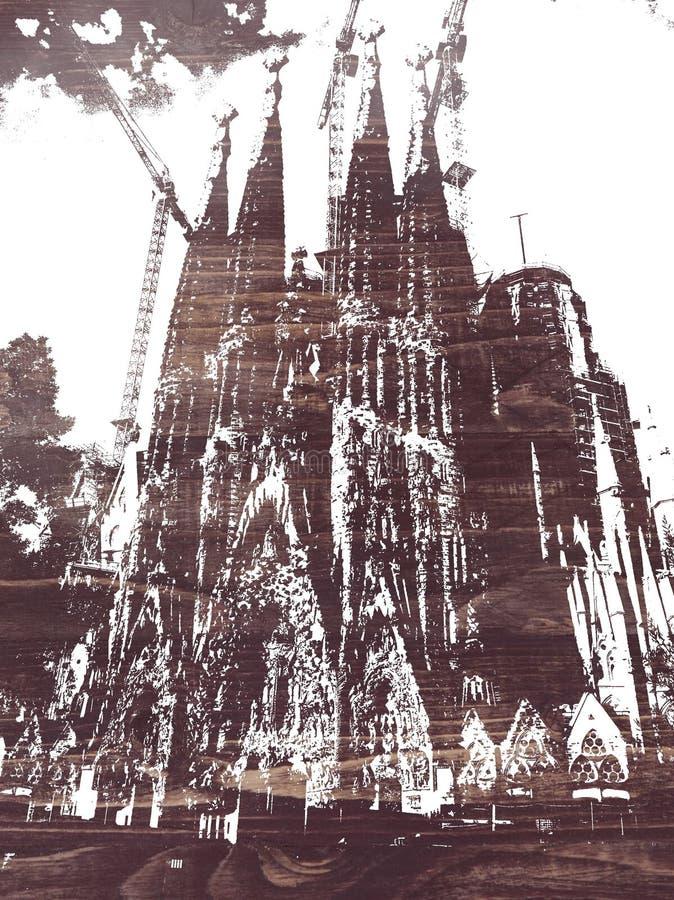 Sagrada Familia lizenzfreies stockfoto