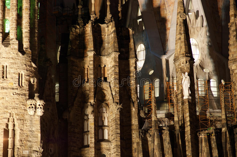Download Sagrada Familia By Antoni Gaudi In Barcelona Stock Image - Image: 23523113