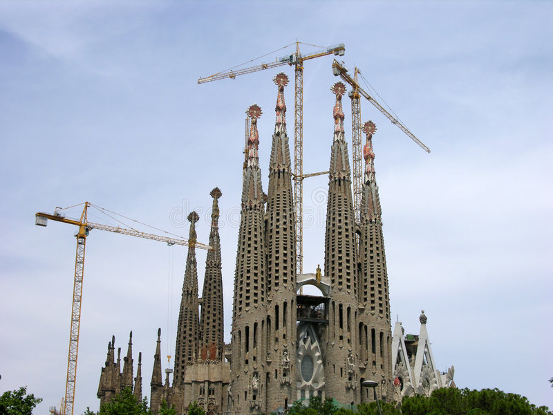 Sagrada Familia - Barcelona Royalty Free Stock Photography
