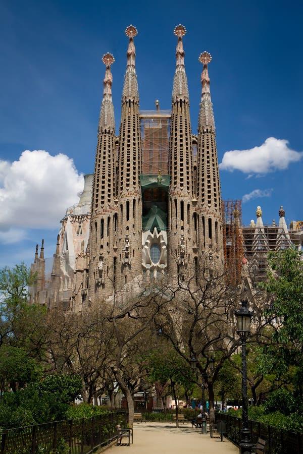 Sagrada Familia (Barcelona) royaltyfri fotografi