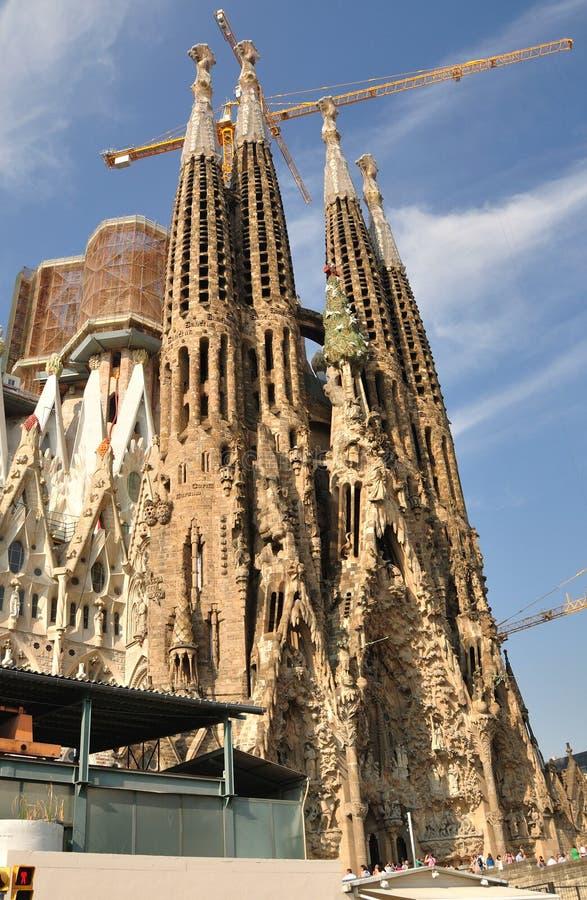 Sagrada Familia.Barcelona. stock photos