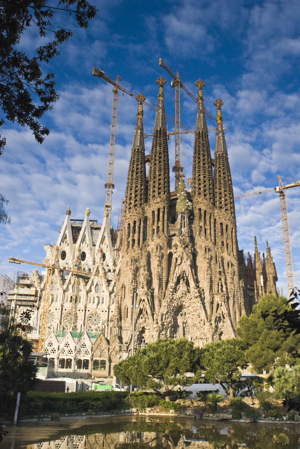 Sagrada Familia, Barcelona fotografia de stock royalty free
