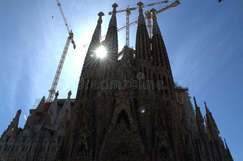 Sagrada Familia, Barcelona fotografía de archivo libre de regalías