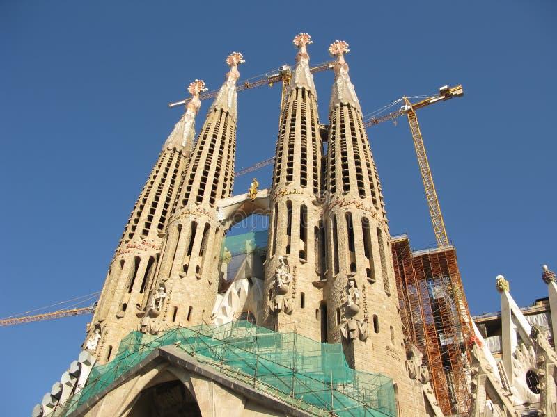 Download Sagrada Familia In Barcelona Stock Photo - Image of stone, church: 7989040