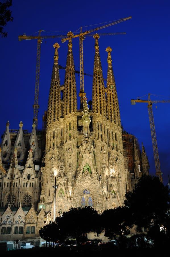 Sagrada Familia, Barcelona royalty-vrije stock afbeelding