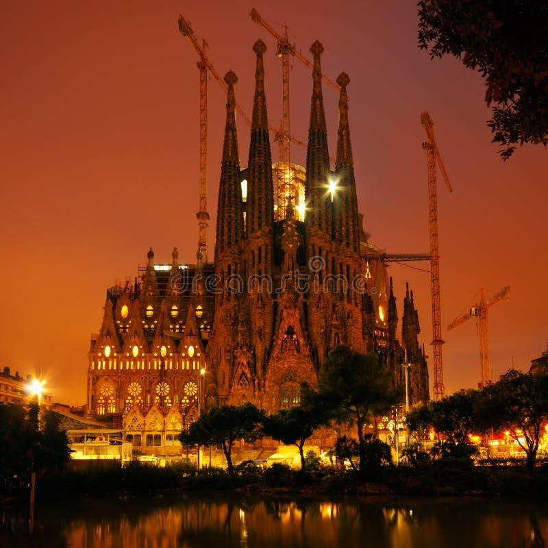 Sagrada Familia, Barcelona - España fotos de archivo libres de regalías