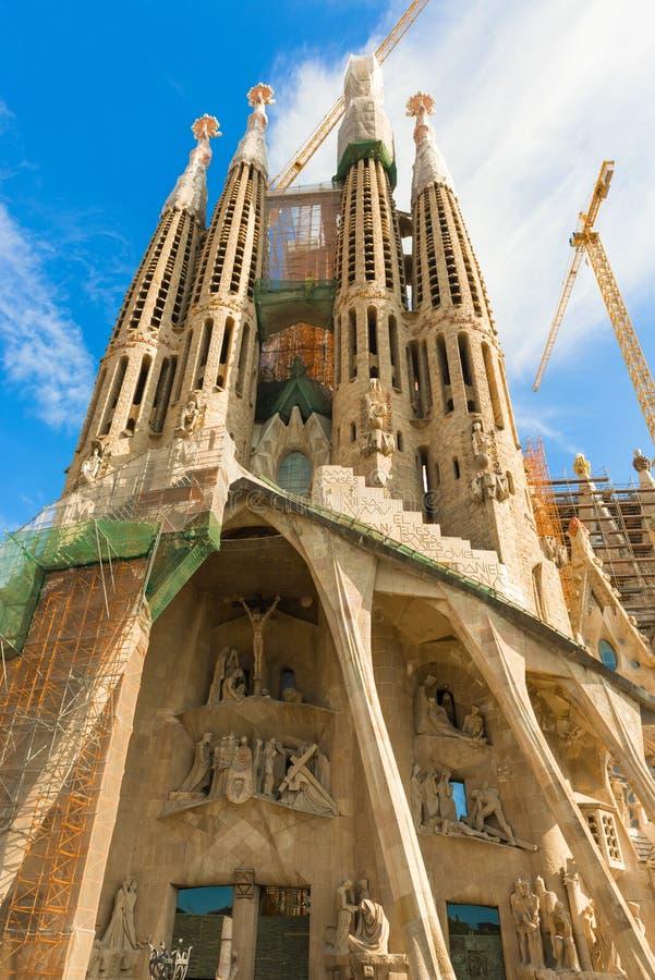 Sagrada Familia, Barcelona royalty free stock photography