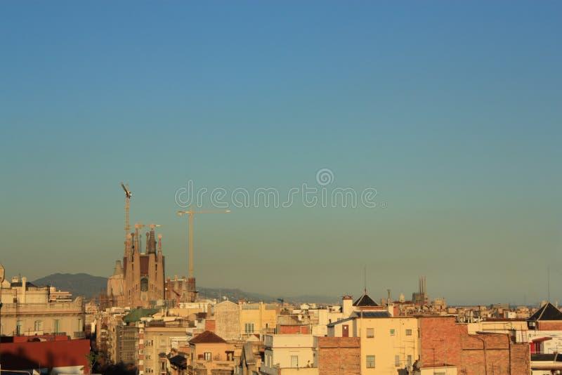 Sagrada Familia, Barcelona, Spain. Royalty Free Stock Image