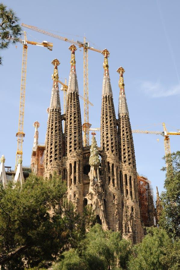 Sagrada Familia In Barcelona Spain Royalty Free Stock Images