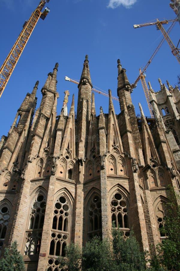 Sagrada Familia, Barcelona Spanien stockfotografie