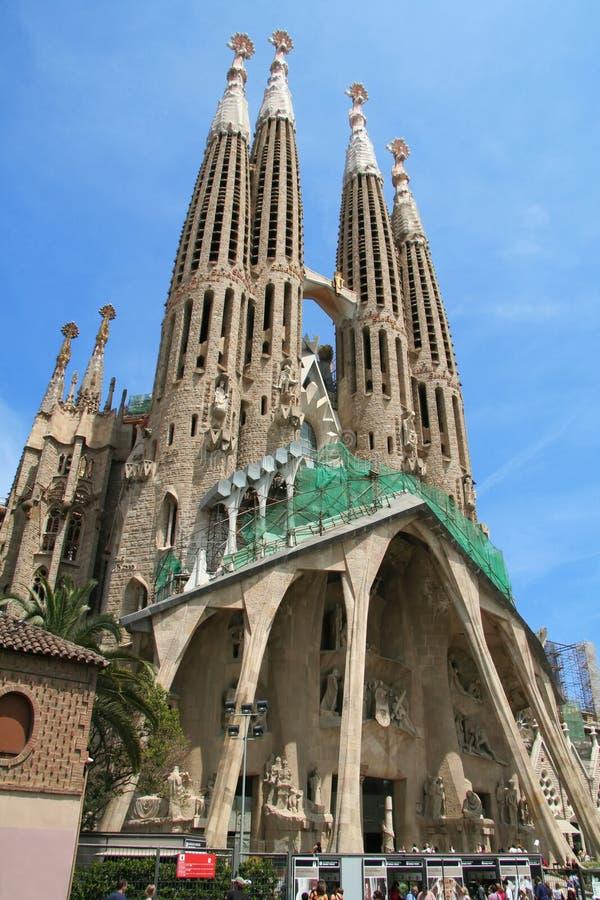 Sagrada Familia (Barcelone) images libres de droits