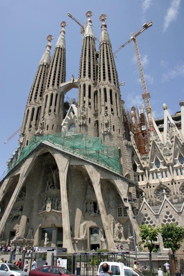 Sagrada Familia Cathedral in Barcelona (Spain)