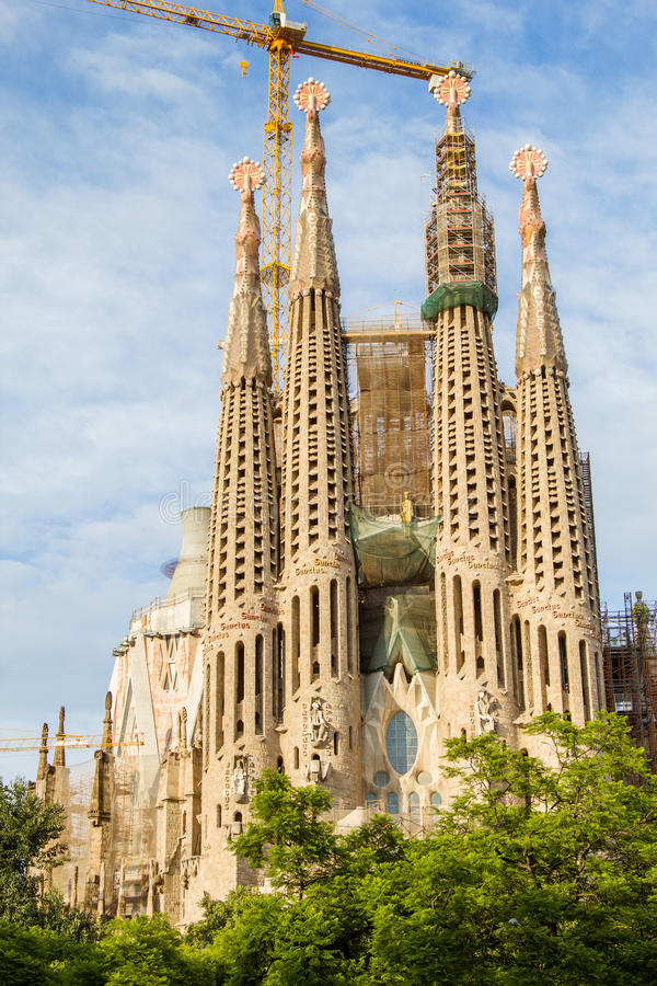 Download Sagrada Familia Cathedral Stock Image Of