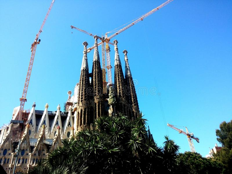 Sagrada Familia royalty free stock image