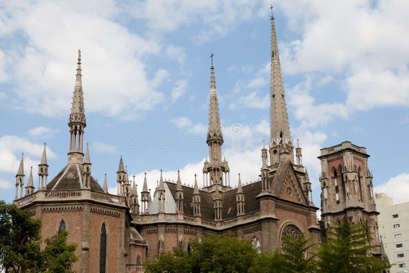 Sagrado Corazon Church - Cordova - l'Argentina immagini stock libere da diritti