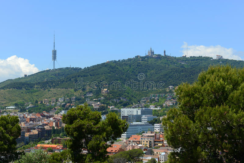 Sagrat Cor Church, Barcelona, Spanje stock foto's