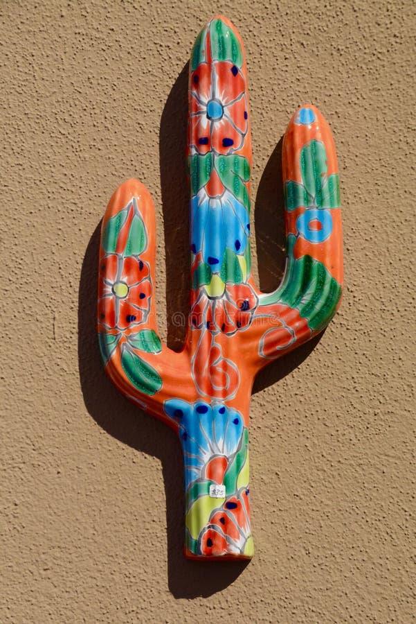 Saguaro en céramique images stock