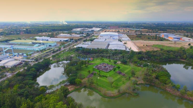 Sahapat industrial,lamphun,north in thailand.  stock photos