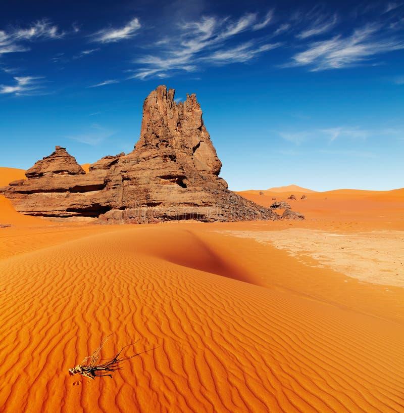 Download Sahara Desert, Algeria stock photo. Image of rocks, arid - 26566928