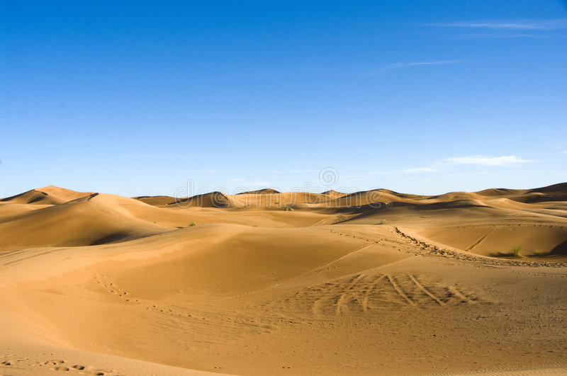 Download Sahara desert dunes stock photo. Image of moroccan, hill - 8417160