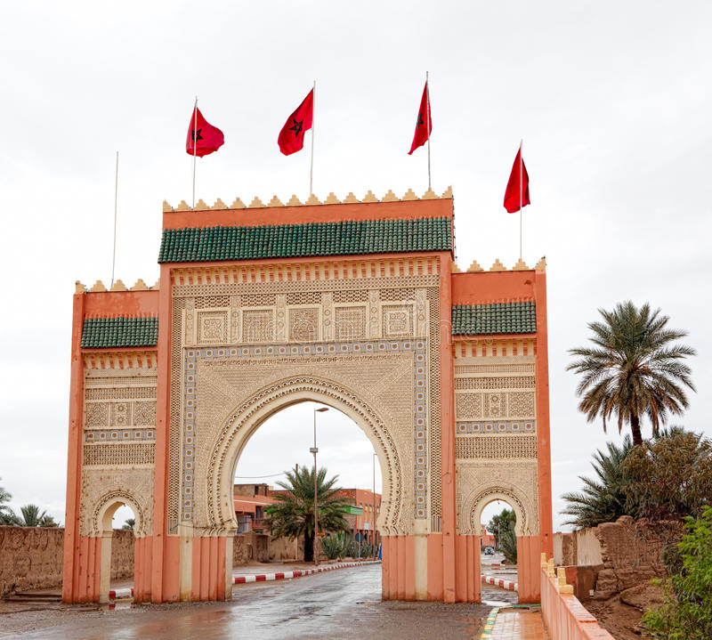 Download Sahara Gate stock photo. Image of famous, architecture - 21240290