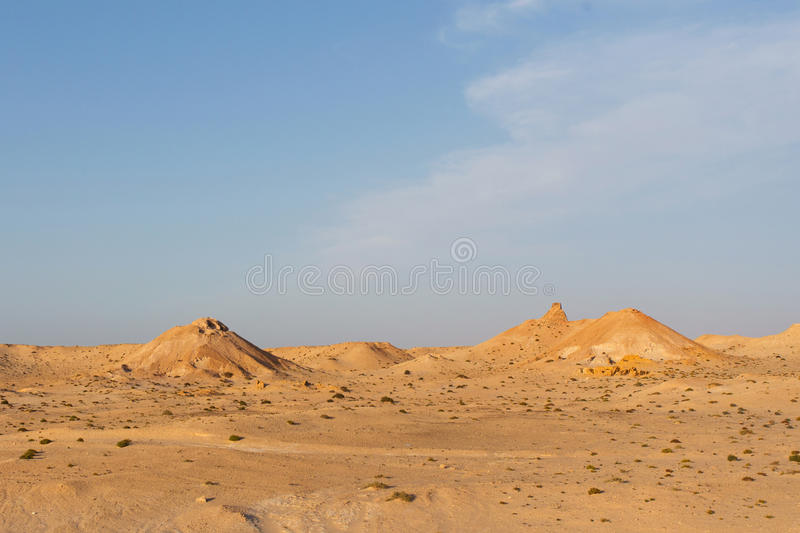 Sahara Landscape occidentale immagine stock