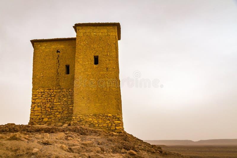 Sahara Lookout Tower stock afbeelding