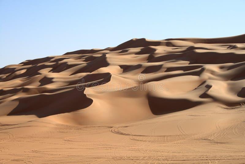 Sahara pustynia fotografia stock