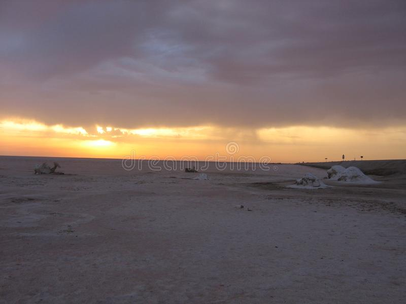 Sahara - Tunísia foto de stock