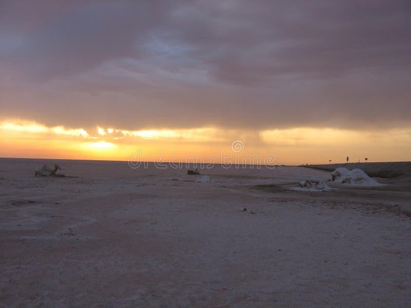 Sahara, Tunezja - zdjęcie stock