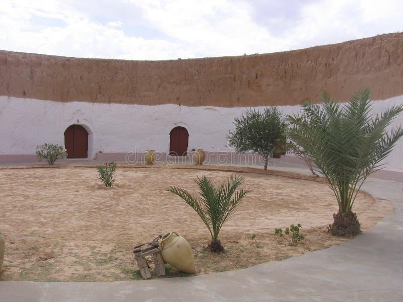 Sahara - Tunisien royaltyfria foton