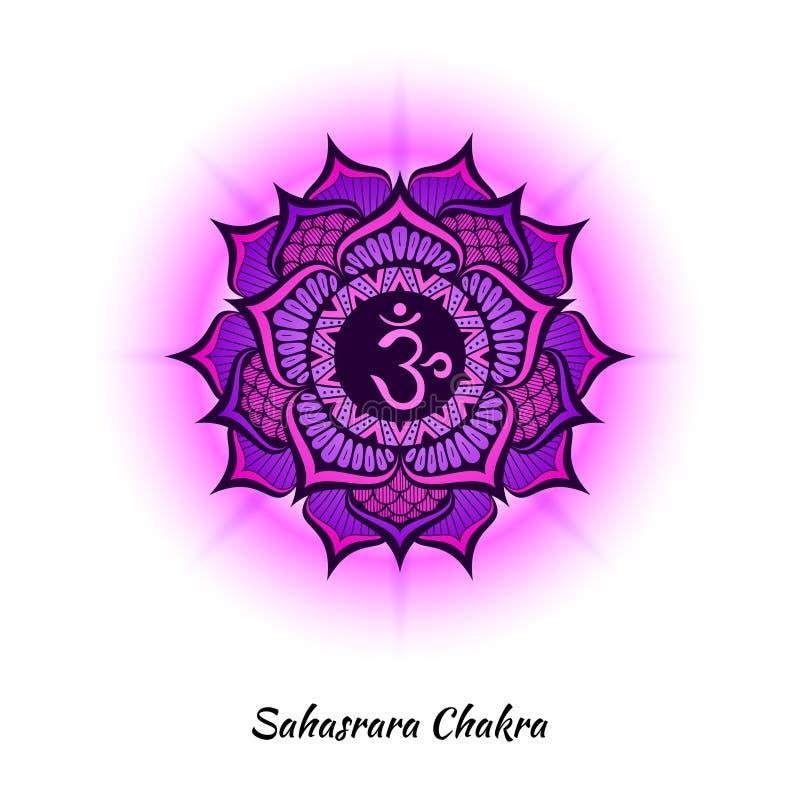 Sahasrara Chakra Design Stock Vector Illustration Of Concept