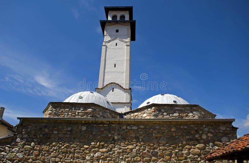 Sahat Kulla watchtower, Prizren, Kosovo arkivfoton
