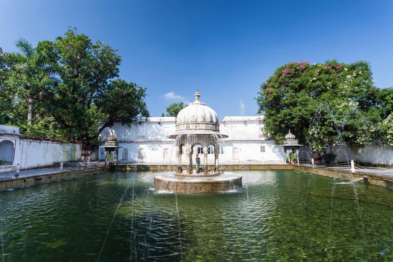 Saheliyon-ki-Bari Udaipur fotografering för bildbyråer