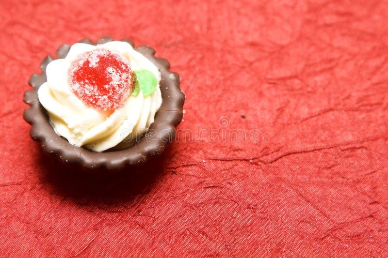 Download Sahneplätzchen stockfoto. Bild von kremeis, allegro, schokolade - 9087294
