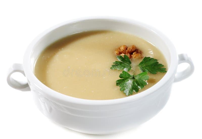 Sahnesuppe stockfoto