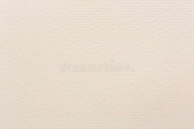 Sahnetonwasserfarbpapierbeschaffenheit f?r Hintergrundverwendung lizenzfreie stockfotos