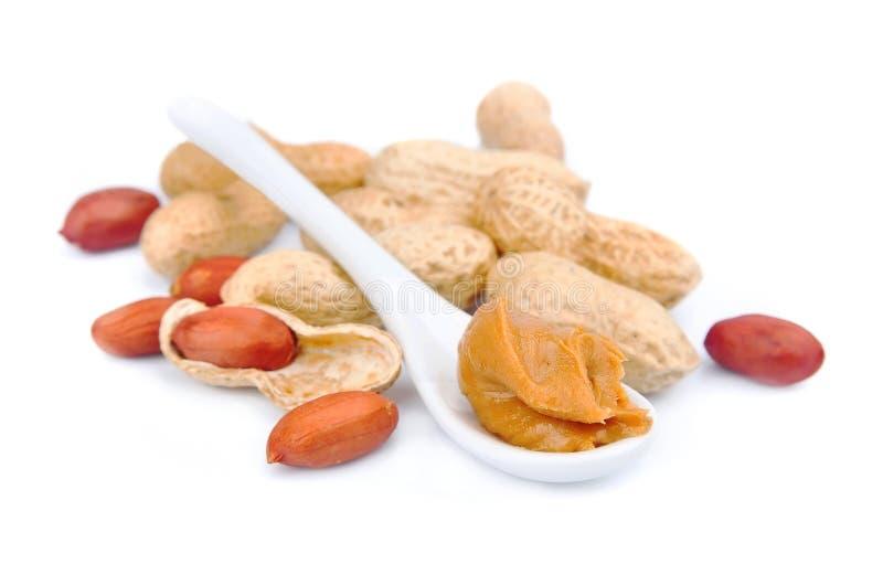 Download Sahnige Erdnussbutter stockbild. Bild von innen, antioxidans - 27731313