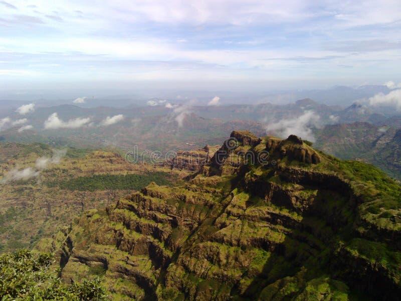 Sahyadri Mountains royalty free stock photo